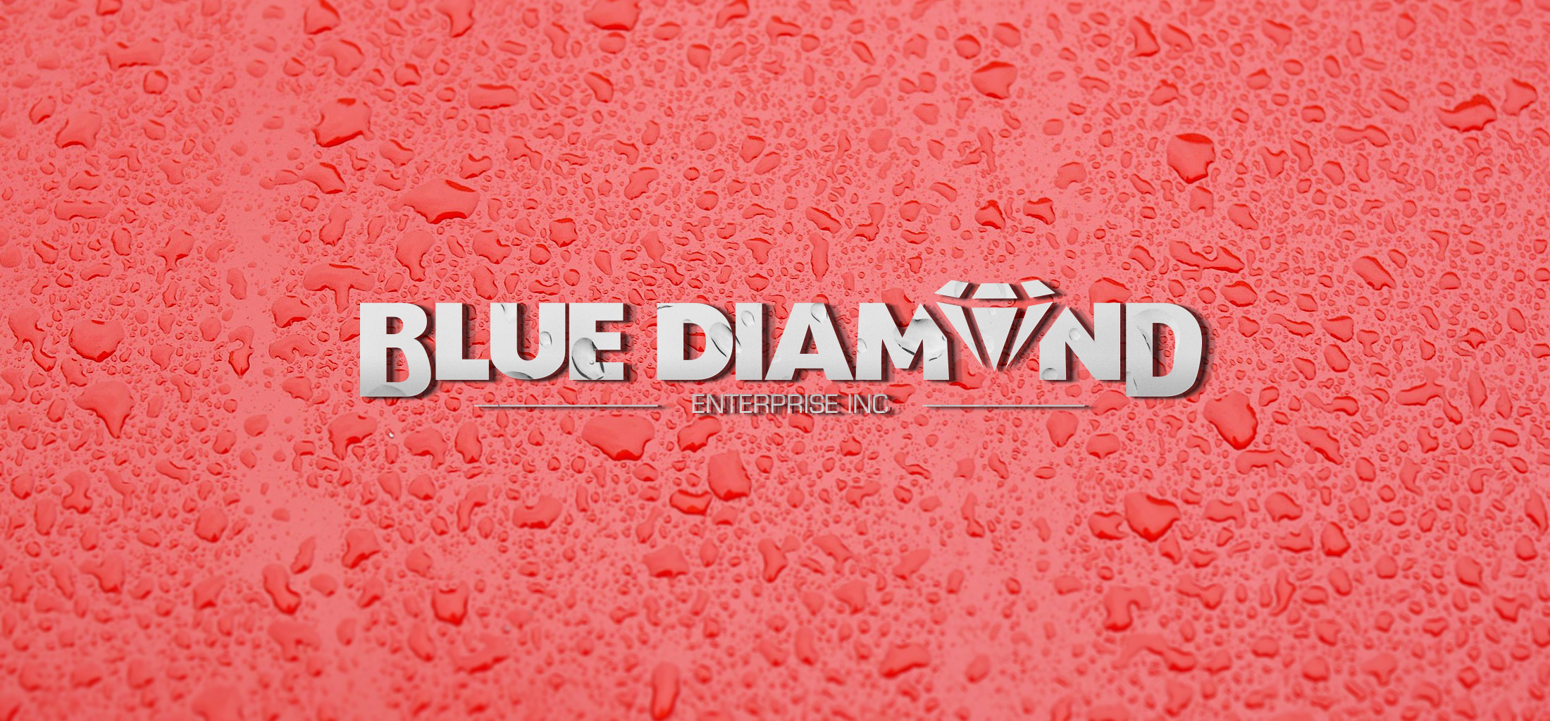 Blue Diamond Enterprise Branding Mockup